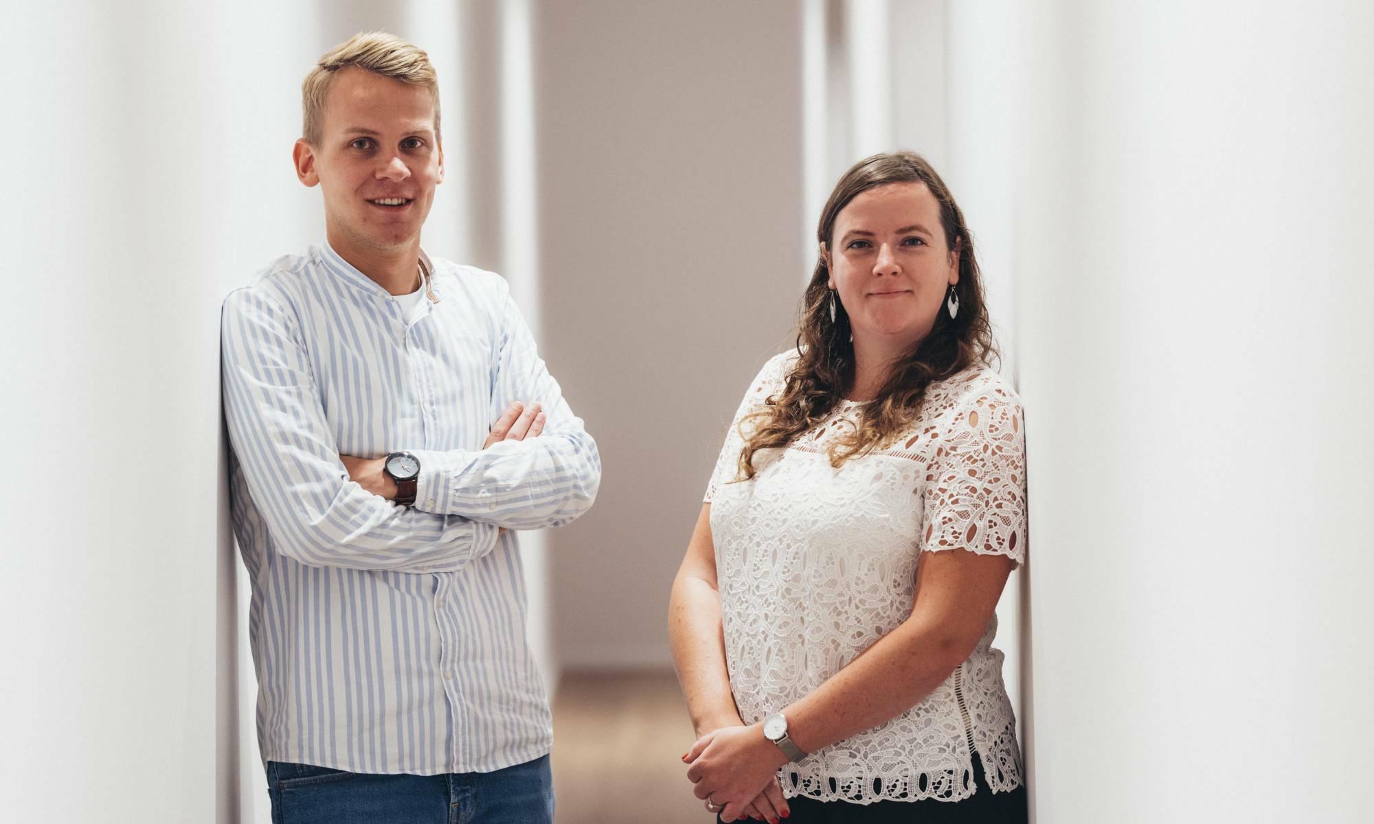 La parole aux collaborateurs de Groep Huyzentruyt: bonjour Audry et Arne
