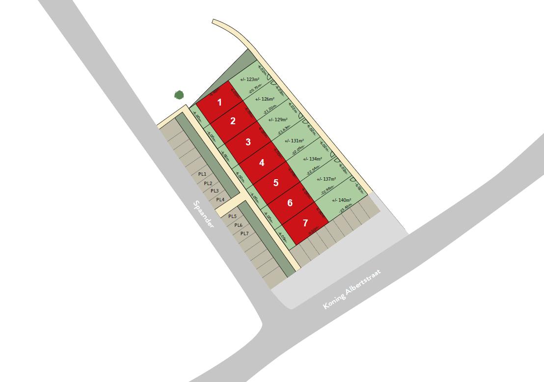 Beveren-Leie - Koning Albertstraat