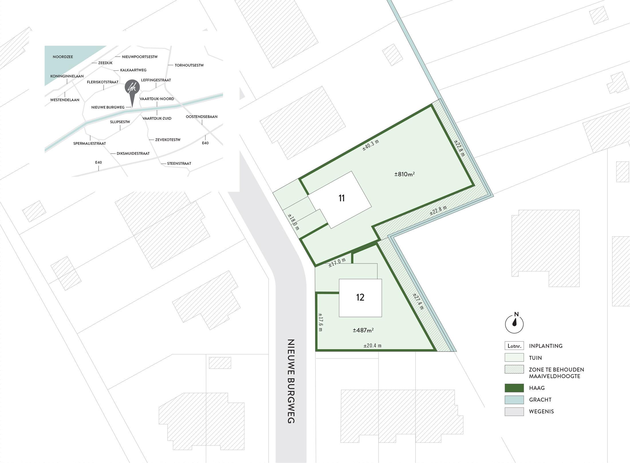 Leffinge - Nieuwe Burgweg