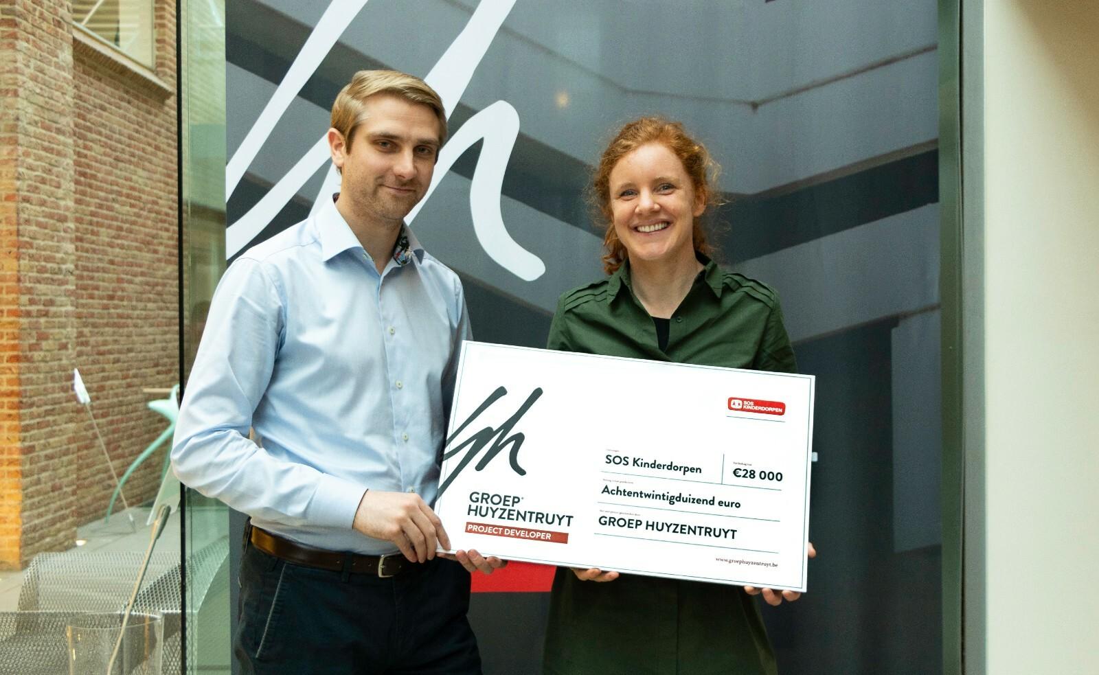Groep Huyzentruyt schenkt ook dit jaar geld aan sos kinderdorpen